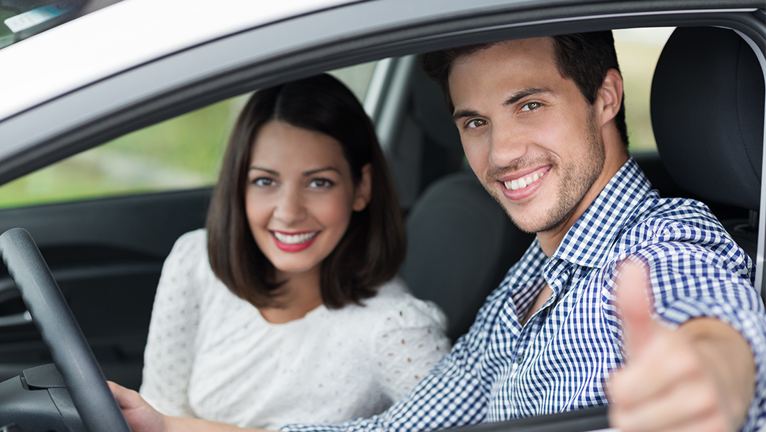 People in car Auto insurance plans